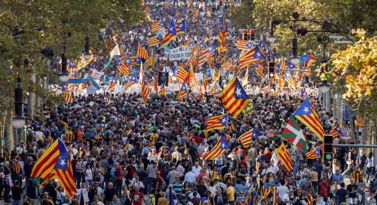 manifestacion-jordis-barcelona-efe